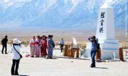 The Manzanar cemetery