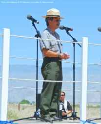 Les Inafuku, Superintendent, Manzanar National Historic Site