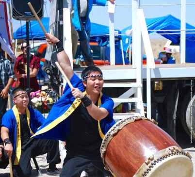 "UCLA Kyodo Taiko performs their signature song, ""Encore."""