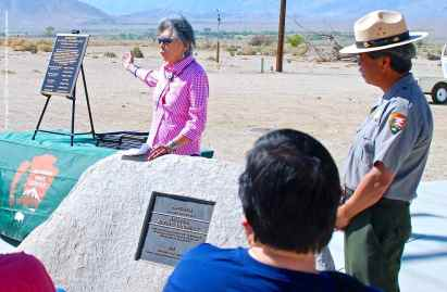 Manzanar Advisory Commission Plaque01