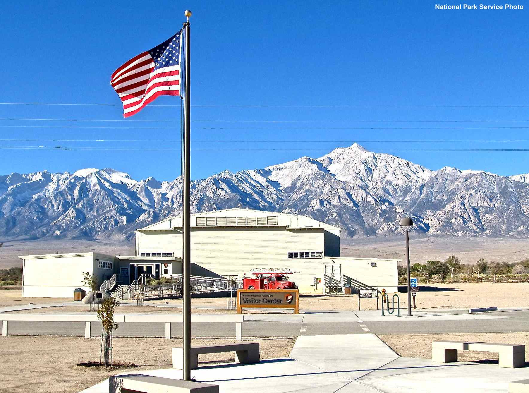 With Federal Government Back In Business Manzanar