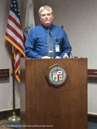 Chuck Holloway, Manager of Environmental Assessment, LADWP