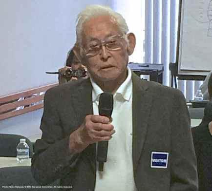 Hank Umemoto, , Former Manzanar incarceree