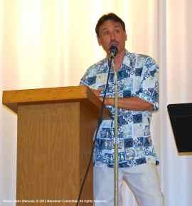 Manzanar Committee Co-Chair Bruce Embrey