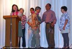 From left: Kerry Cababa, Rose Ochi, Bruce Embrey, Les Inafuku, and Bruce Saito