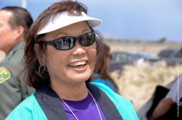 Manzanar Committee Co-Chair Kerry Cababa.