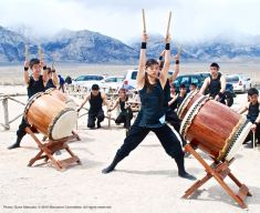 UCLA Kyodo Taiko performed at the 46th Annual Manzanar Pilgrimage.