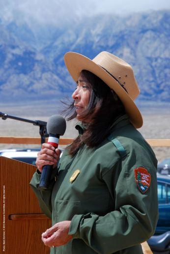 Bernadette Johnson, Superintendent, Manzanar National Historic Site