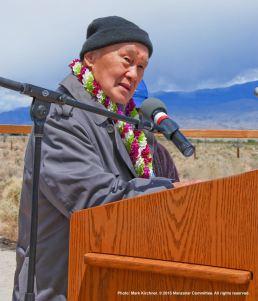 Rev. Paul Nakamura received the Manzanar Committee's 2015 Sue Kunitomi Embrey Legacy Award.