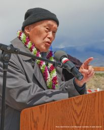 Rev. Paul Nakamura received the Manzanar Committee's 2015 Sue Kunitomi Embrey Legacy Award.