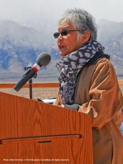 Keynote speaker Dr. Satsuki Ina.
