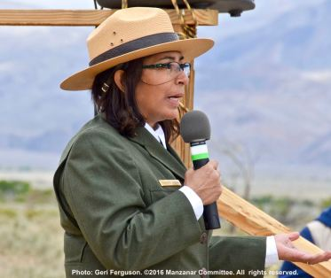 Manzanar National Historic SIte Superintendent Bernadette Johnson