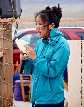 UCSD Nikkei Student Union President Rena Ogino
