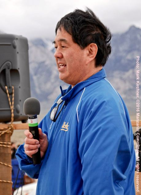 Manzanar Committee member Gann Matsuda