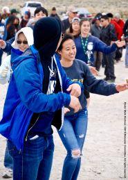 Ondo dancing during the 47th Annual Manzanar Pilgrimage