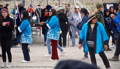 Ondo dancing during the 47th Annual Manzanar Pilgrimage