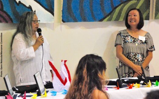 Jenny Chomori (left) and Colleen Miyano (right)