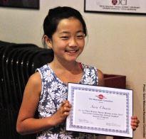 Student Awards recipient Sara Omura