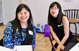Jeanna Tang (left) and Wendi Yamashita (right)