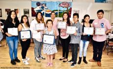 The Manzanar Committee's Second Annual Student Awards recipients
