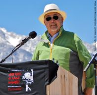Manzanar Committee and Manzanar Pilgrimage co-founder Warren Furutani was the keynote speaker