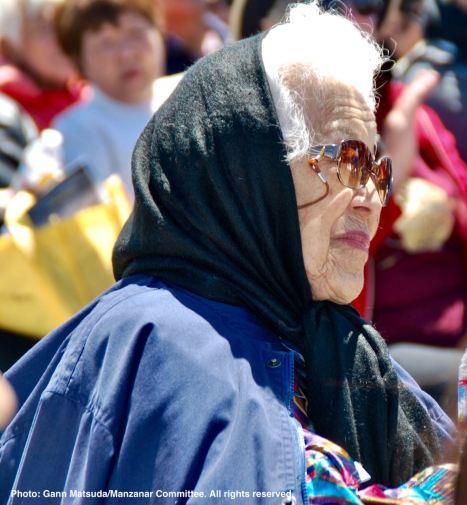 Former Manzanar incarceree Aiko Herzig-Yoshinaga, a hero in the Japanese American community