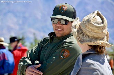 Manzanar National HIstoric SIte staff member Dave Goto