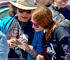 "Manzanar Committee""s Kerry Cababa (left) and Monica Embrey (right)"