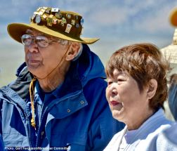 Takashi Hoshizaki (left) and Nancy Oda (right)