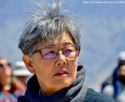 Manzanar Committee member Pat Sakamoto