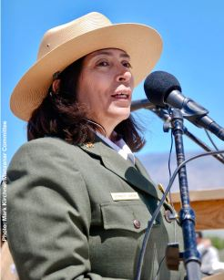 Manzanar National Historic Site Superintendent Bernadette Johnson