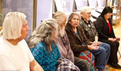 The Button family from the Lone Pine Paiute-Shoshone Tribe shared their family's history and experiences at Manzanar as the land's indigenous people.