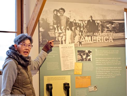 Former Manzanar incarceree and Manzanar Committee member Pat Sakamoto shares the story of her family being torn apart by the infamous loyalty questionnaire.