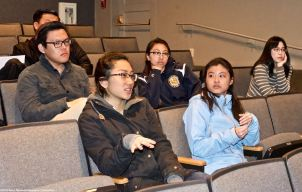 During a session in which students read excerpts from oral histories of those who were unjustly incarcerated at Manzanar during World War II, they began to connect this history to their own experiences with racism, inequality and injustice. The result was a very powerful and emotional discussion.