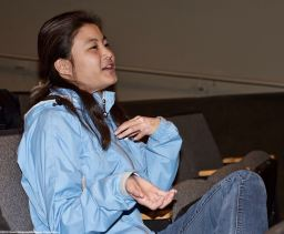 UCSD Nikkei Student Union member Lauren Matsumoto.