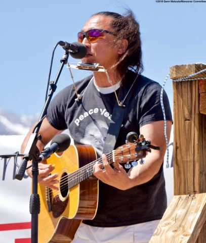 Ken Koshio performed at the Manzanar Pilgrimage once again.