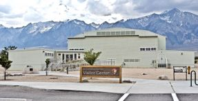 The Manzanar National Historic Site Visitors Center.