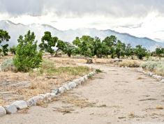 A look at the site of John Shepherd's ranch at Manzanar.