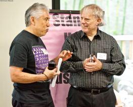 NCRR members Steve Nagano (left) and David Urmston (right)