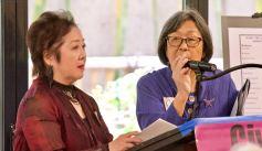 Miya Iwataki (left) and Kathy Masaoka (right)