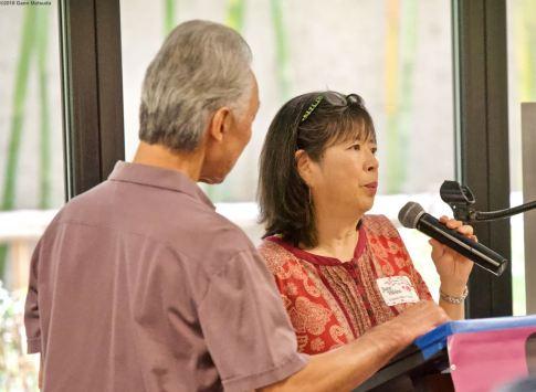 From left: Richard Katsuda and June Hibino