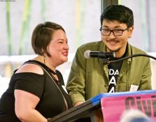 Kristin Fukushima (left) and Alex Kanegawa (right)
