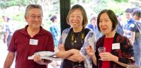 From left: Dean Toji, Susie Ling and Karen Umemoto