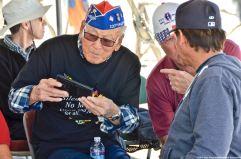 442nd RCT veteran Lawson Sakai (left)