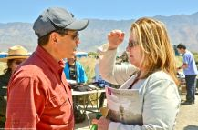 Bruce Embrey with JANM President/CEO Anne Burroughs