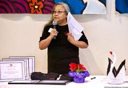 Manzanar Committee Co-Chair Jenny Chomori