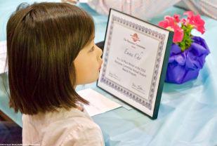 Award winner Emma Cho