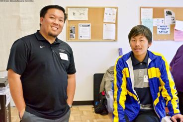 Manzanar Committee members Jason Fujii (left) and David Vuong (right)