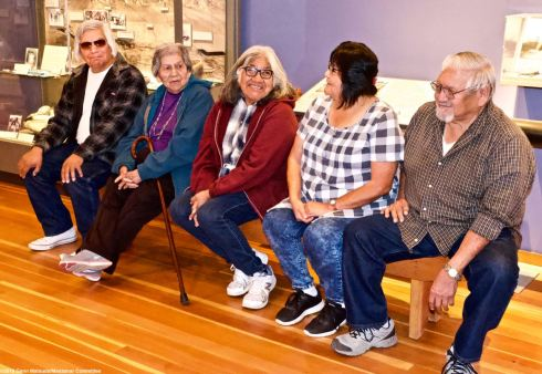 The Button family from Lone Pine, California, whose roots date way back to the Paiute and Shoshone settlement of the Owens Valley.