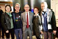 From left: Chiae Byun Kitayama. Glen Kitayama, Brian Niiya, Key Ochi, Alan Nishio